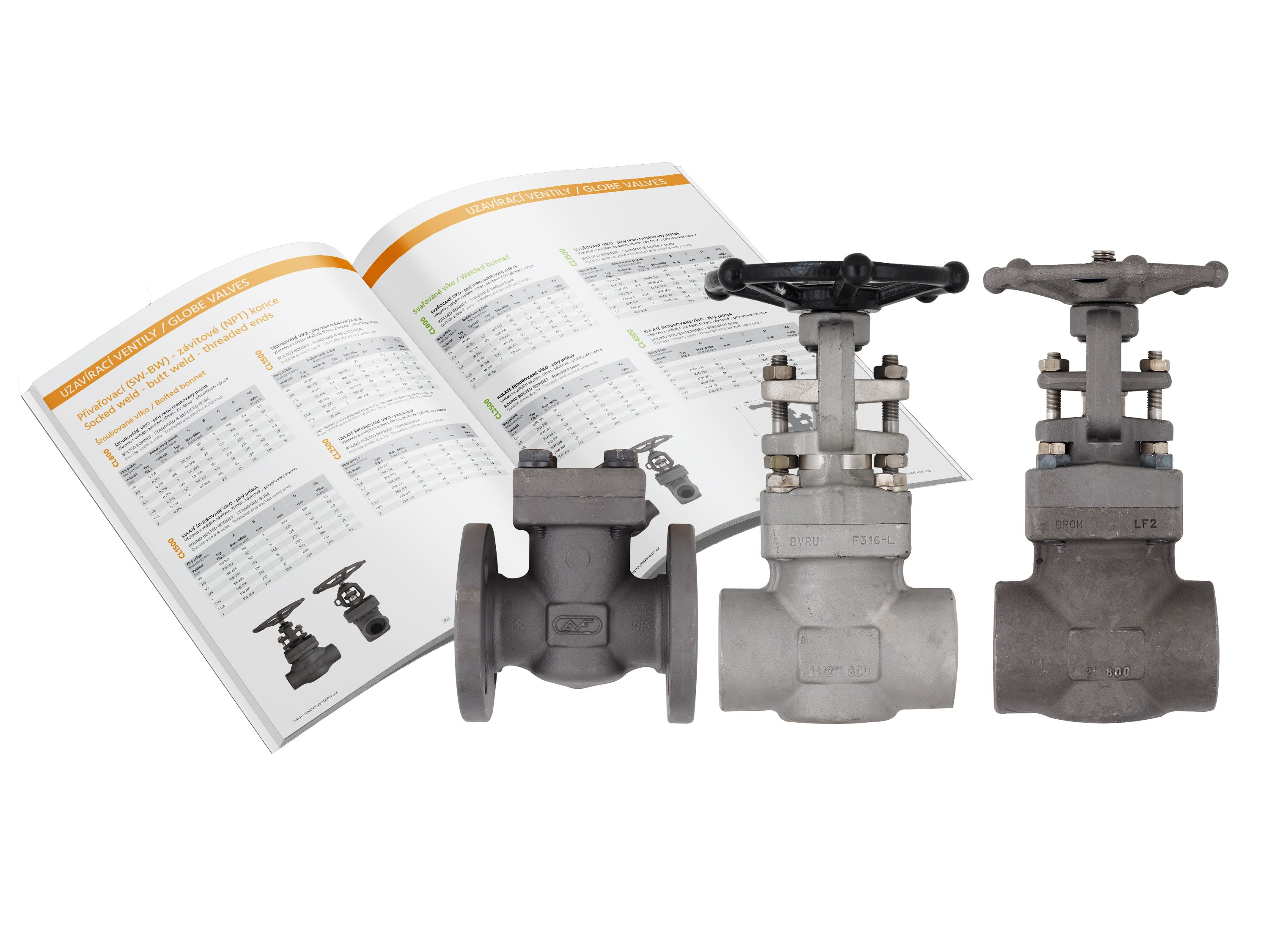 New catalogue of forged valves